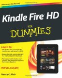 Kindle Fire HD For Dummies [Paperback]