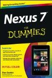 Nexus 7 For Dummies (Google Tablet) [Paperback]