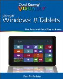 Teach Yourself VISUALLY Windows 8 Tablets [Paperback]