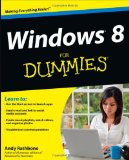 Windows 8 For Dummies [Paperback]