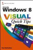Windows 8 Visual Quick Tips [Paperback]